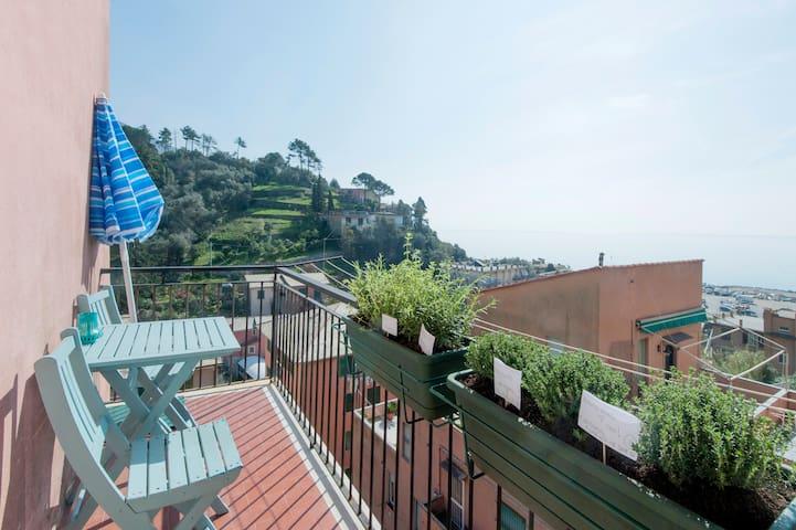 Monterosso: 2 br with sea view! - Monterosso Al Mare - Apartment