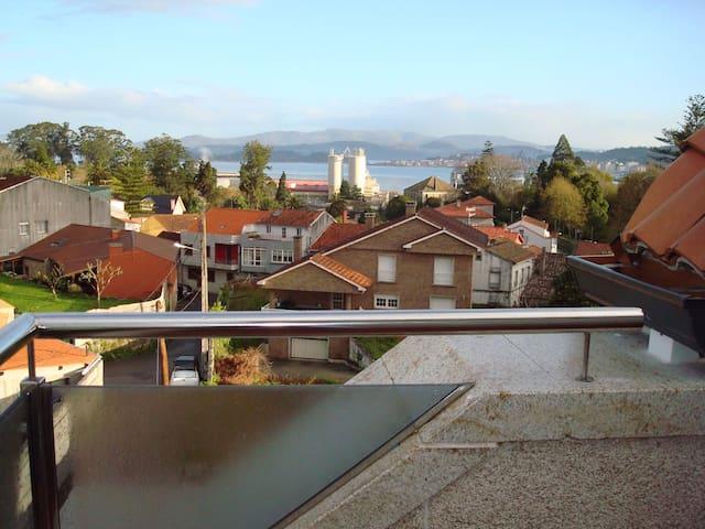 RELAJANTE VISTA A LA RIA DE AROUSA - Vilagarcía de Arousa (Pontevedra) - Byt