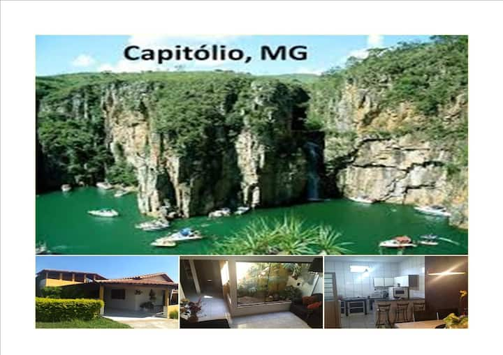 Furnas e Capitólio  - casa completa Lago de Furnas