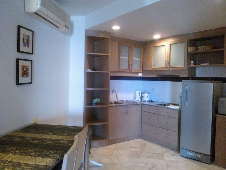 Kitchen condo Palmpavilion Hua hin