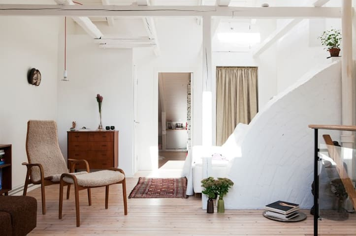 Designers loft in Malmö