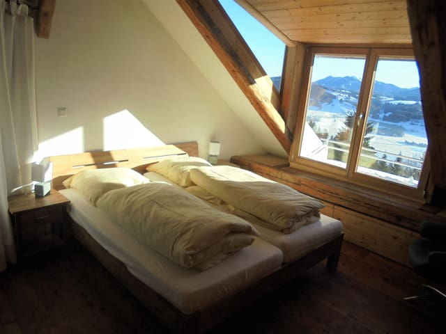 Urige Ferien auf dem Berg: Die Himmelstor-Loft