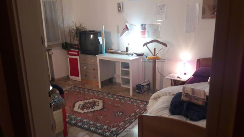 pretty room near park and Mazzini's rail station - Bologna - Apartment