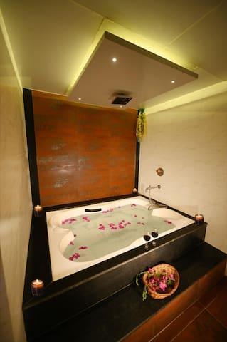 Bathroom with Couple Bath tub
