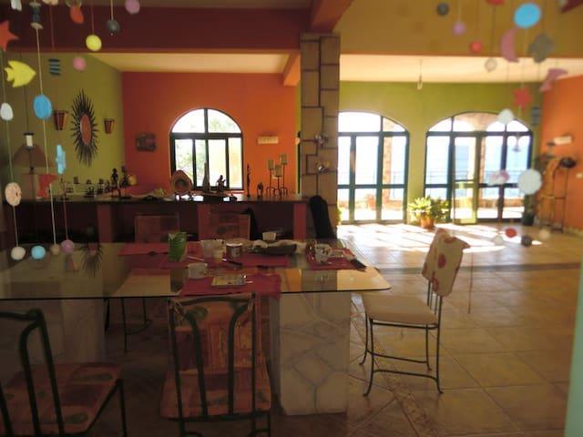 Hospedagem Familiar casa Tété  - Praia - Casa