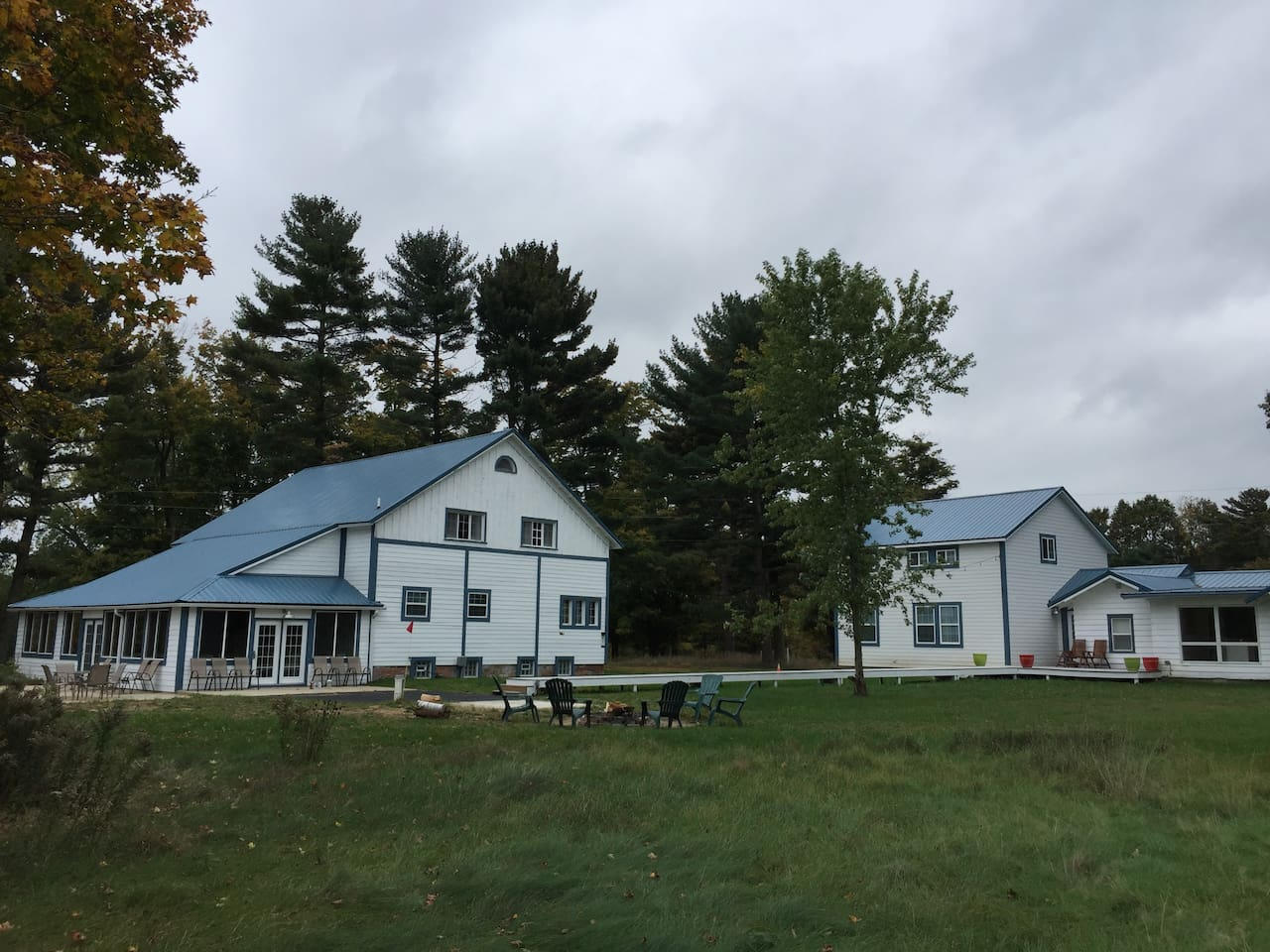 Two buildings sitting on 3 acres of property