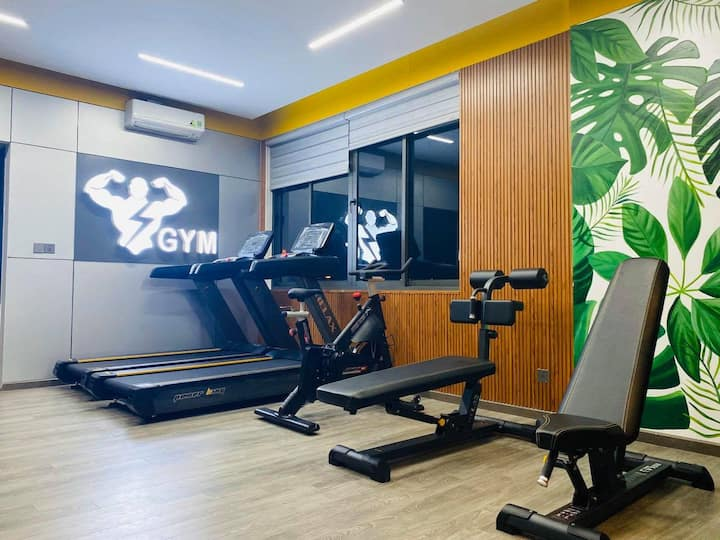 Apartment 40m2 with gym,pool,kitchen at SonTra(4A)