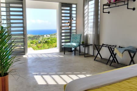 Private hilltop, 360 Caribbean views - El Asombro