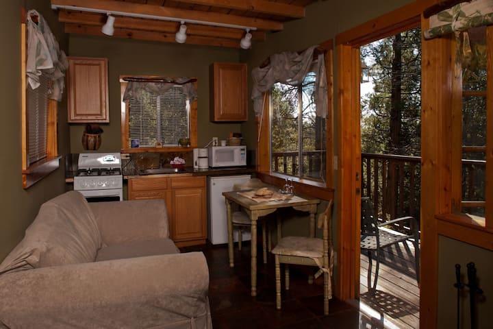 Idyllwild Bunkhouse - Queen Cabin Studio - No Pets (Forest Hideaway)
