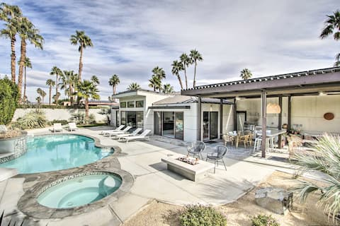 'Hidalgo House' in Palm Springs w/ Mtn Views!