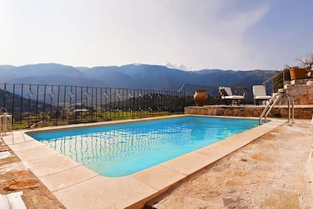 MOUNTAIN PARADISE  WITH PRIVATE POOL - Ханья - Вилла