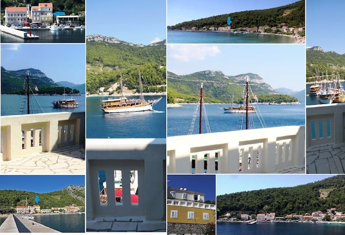 Perfect For 2, Step To The Beach - Trstenik - Apartment