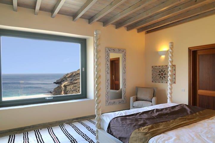 Honeymoon residence with aegean sea view