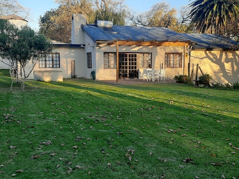 Hanepoot Cottage on Franschhoek farm