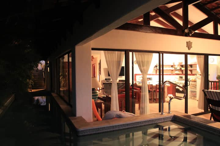 Villa on the Pacific Ocean