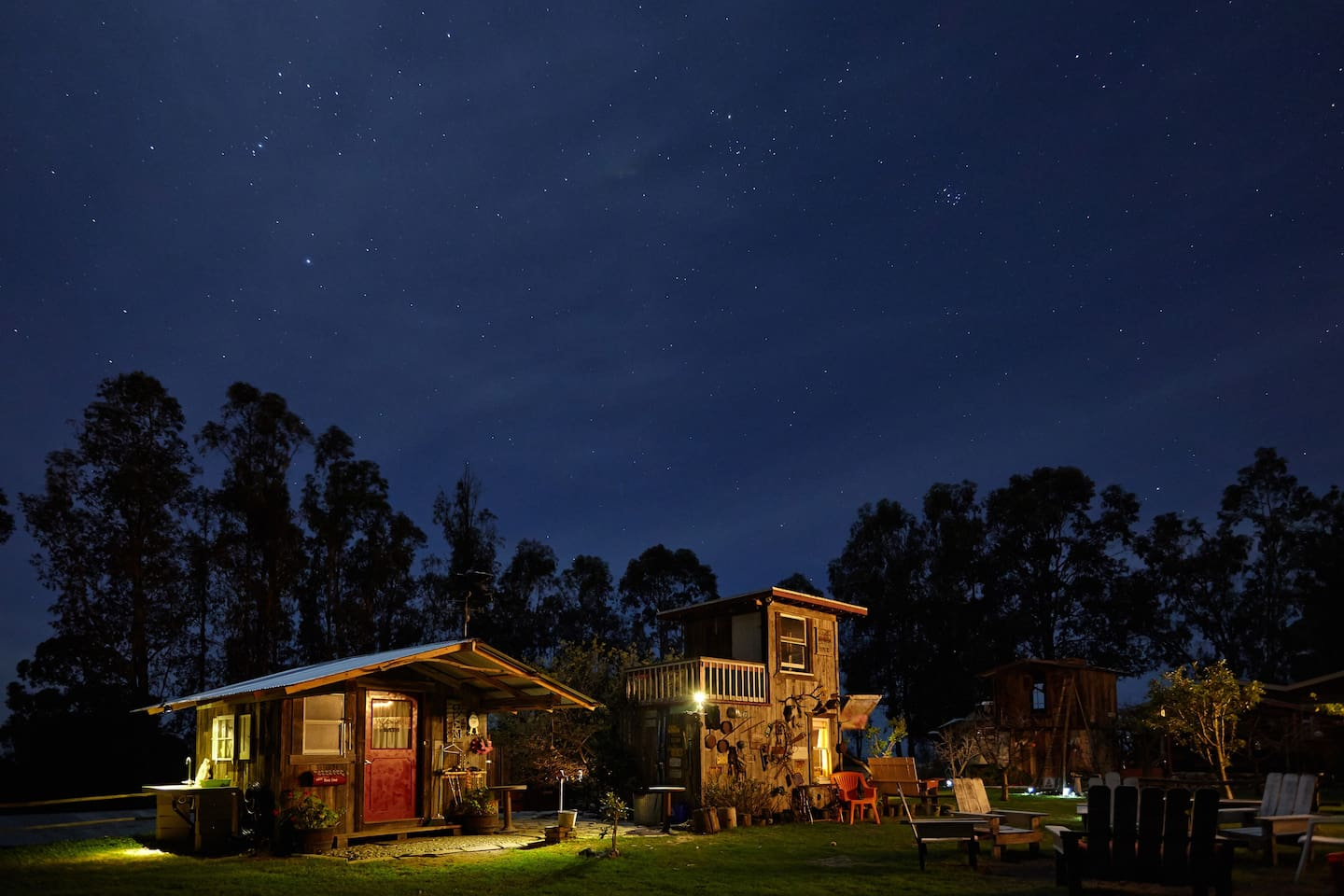 Starry nights...night scene of our property