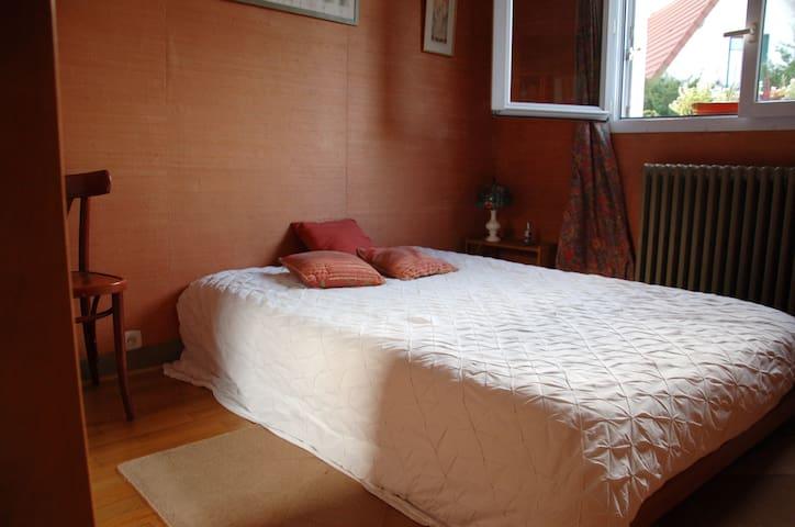 Chambre double individuelle sur jardin - Antony - Bed & Breakfast
