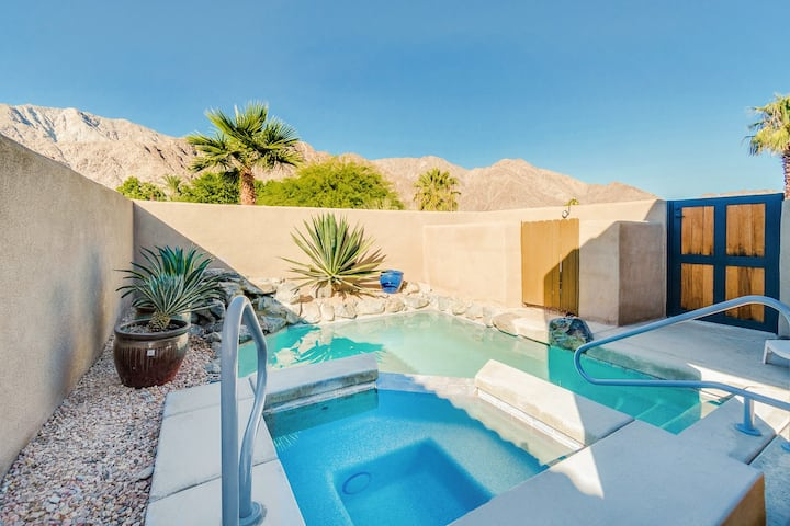 La Quinta Cove Gem | Pool, Hot Tub & Mountain View