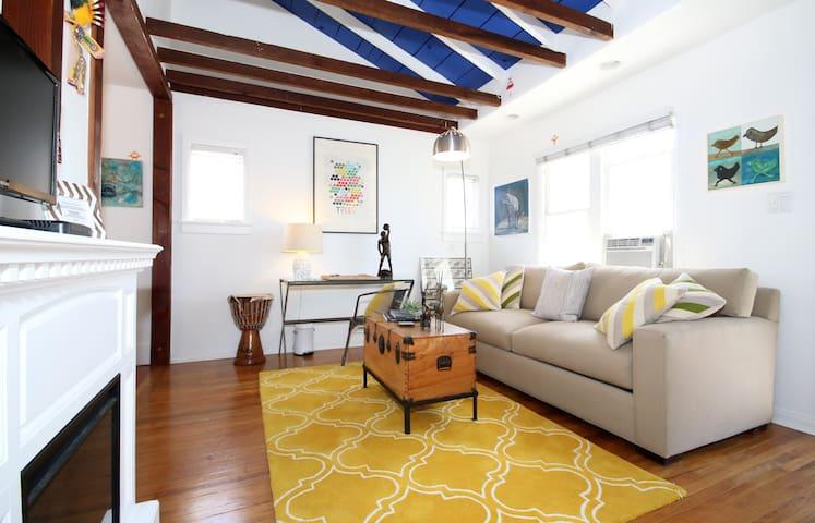 Comfort, Location & Unique Style!
