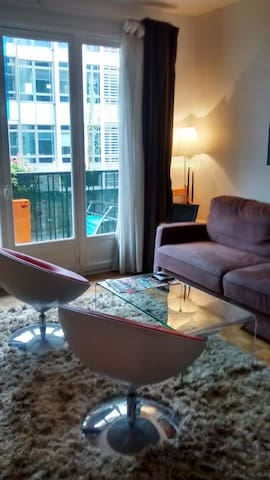 Lovely flat downtown South of Paris near the Metro - Montrouge - Lejlighed