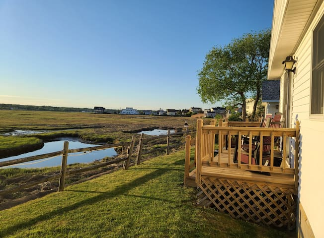 300 feet from Beach! 2 bedroom/1 bath cottage 1Q, 2T, 1 Sofa Bed, Full Kitchenette