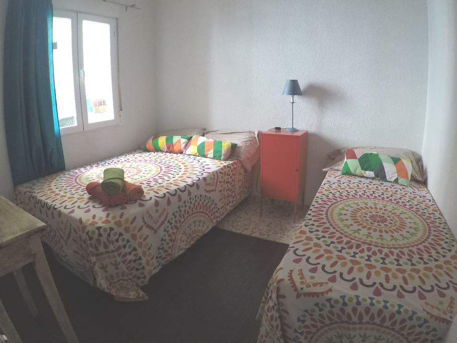 Dormitorio 2\3 personas