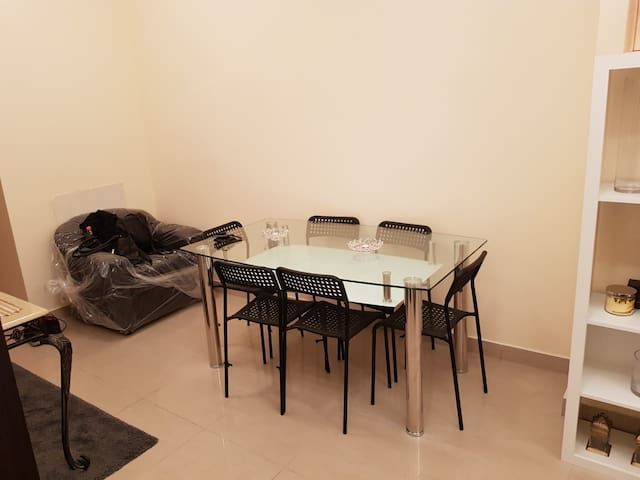Fully furnished apartment with full amenities