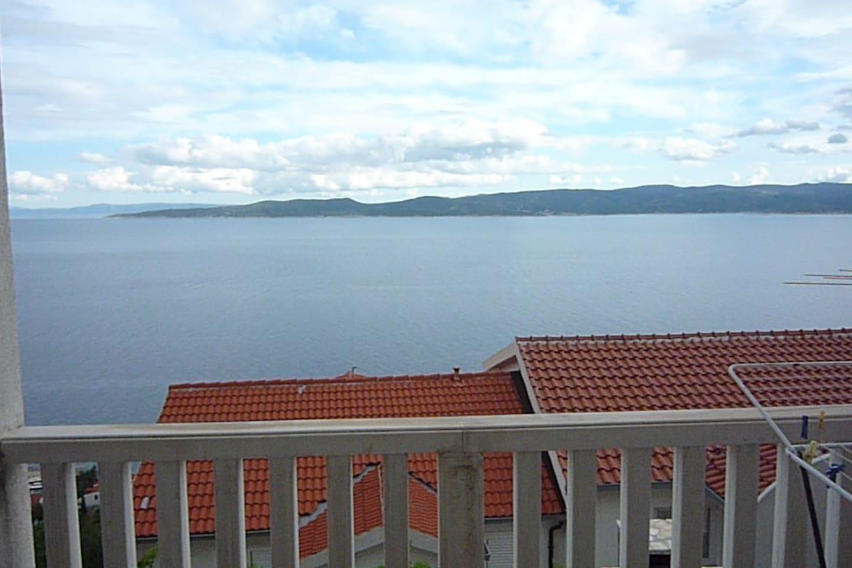 ap 3 - view: Adriatic sea and the island of Brac.