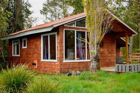 Cabaña familiar N° 1 a orillas del Lago Llanquihue