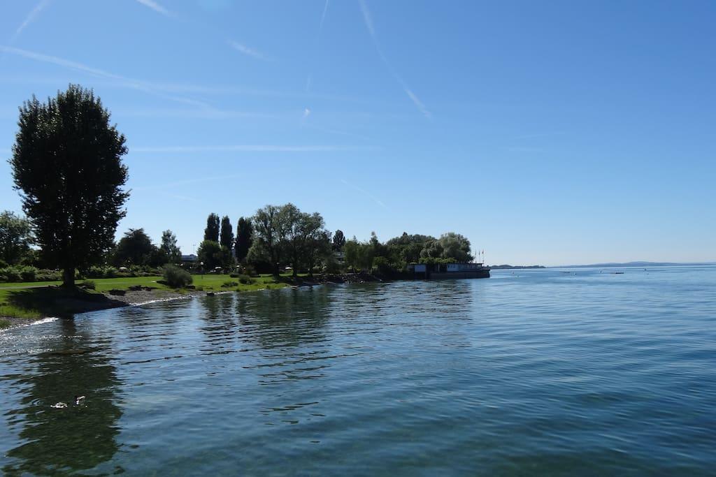 Seeufer vor deiner Unterkunft
