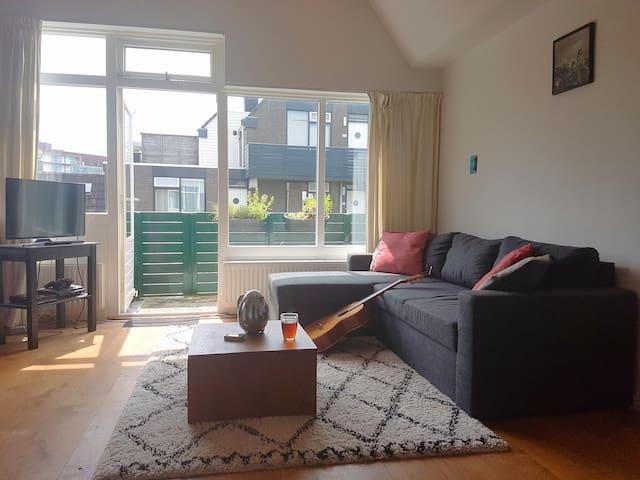Fijn appartement centrum, Schildersbuurt
