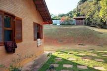 Chácara com vista para represa, Gil construções