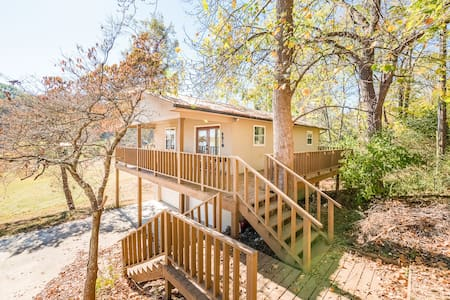 Lakeside Retreat - Brim-Deck, view, dock, fishing - Dayton - Haus