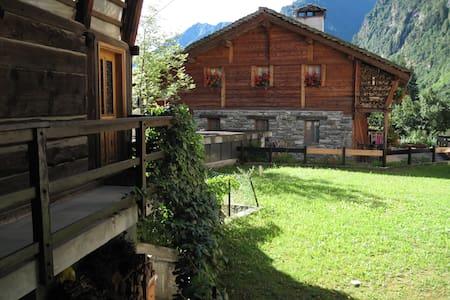 Apartment in Baita Walser XVII sec - Alagna Valsesia - อพาร์ทเมนท์