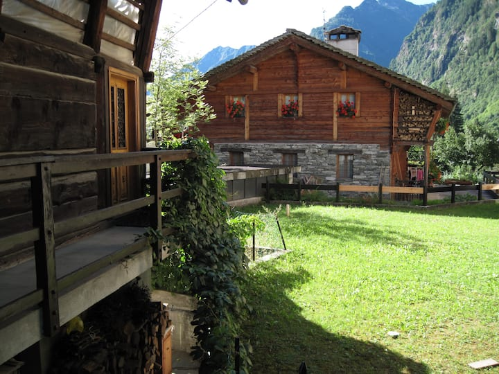 Apartment in Baita Walser XVII sec