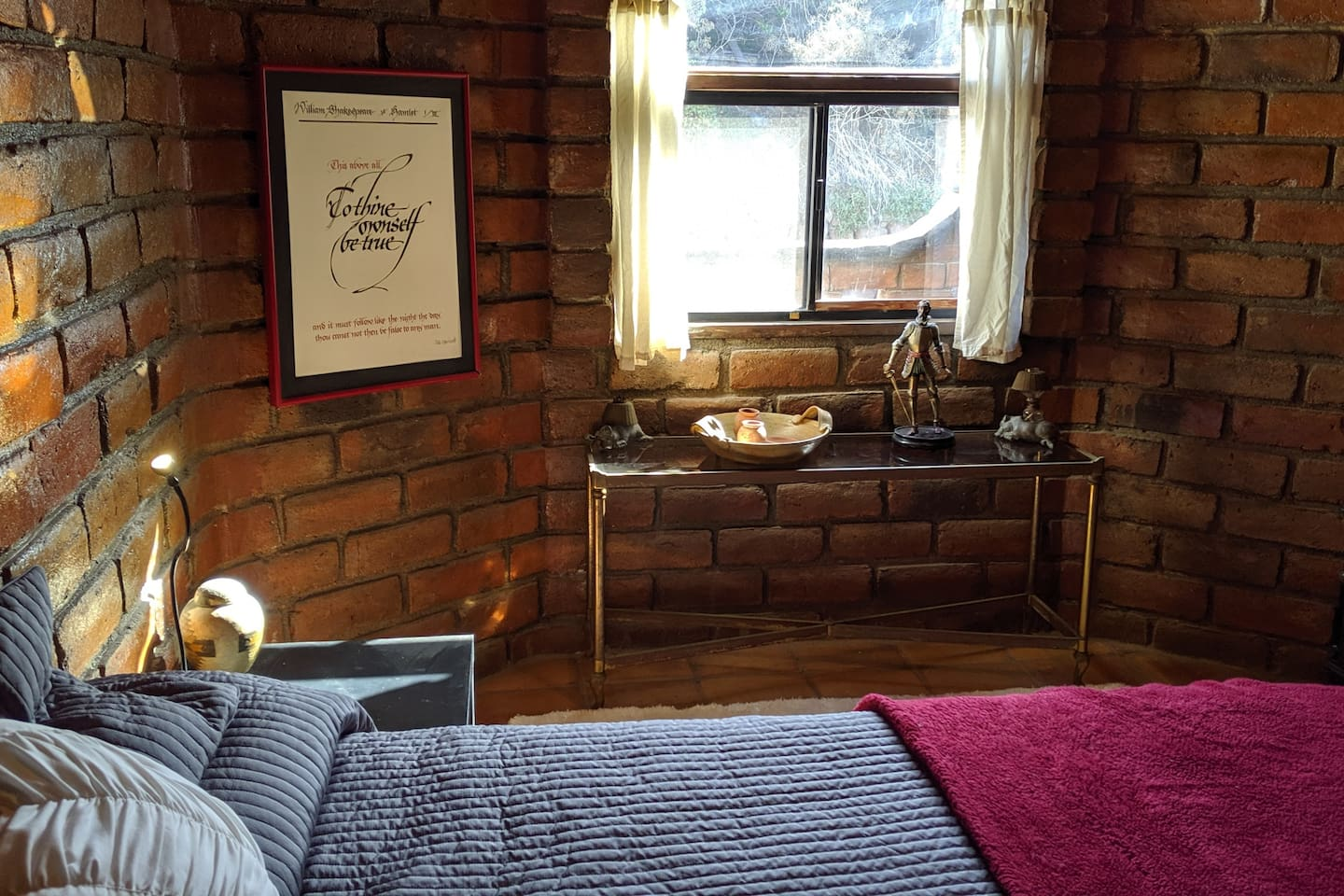 Cosy private bedroom with plenty of light