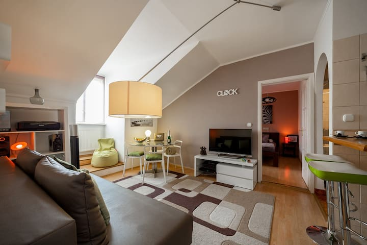 Designed , High-tech Apartment in the Old Town