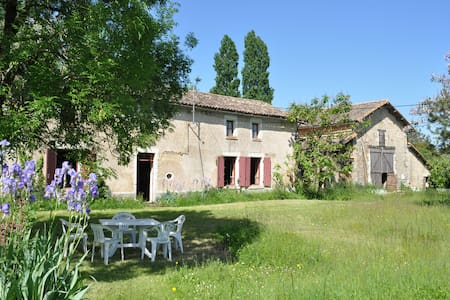 Old farmhouse in France + camping - Sepvret - Casa