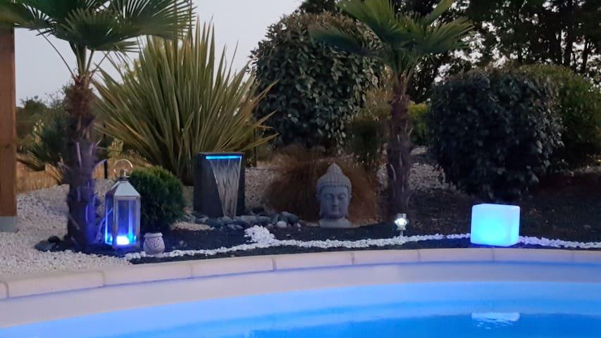 villa contemporaine avec piscine - Gaillac - Casa de campo