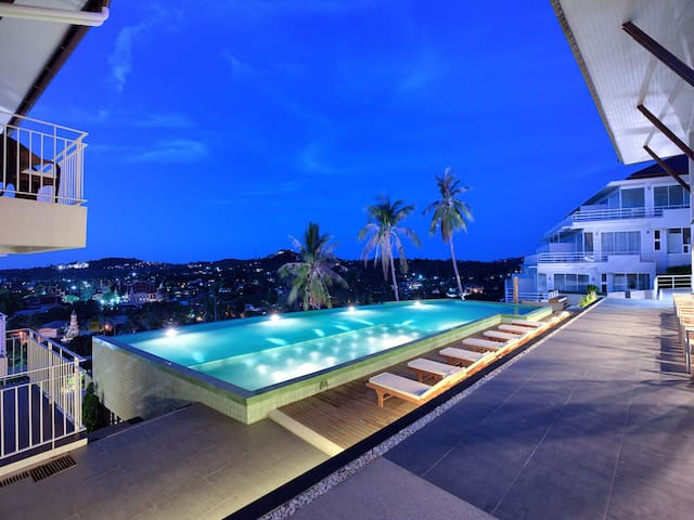 BEAUTIFUL SEA VIEW great STANDING - Ko Samui - Apartment