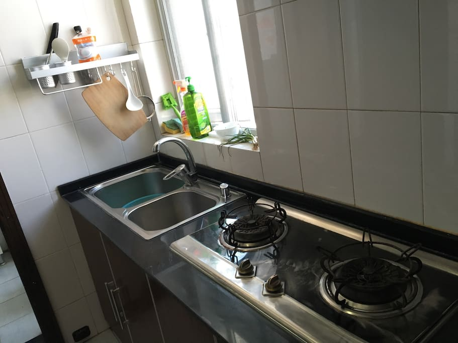 The cleanest kitchen