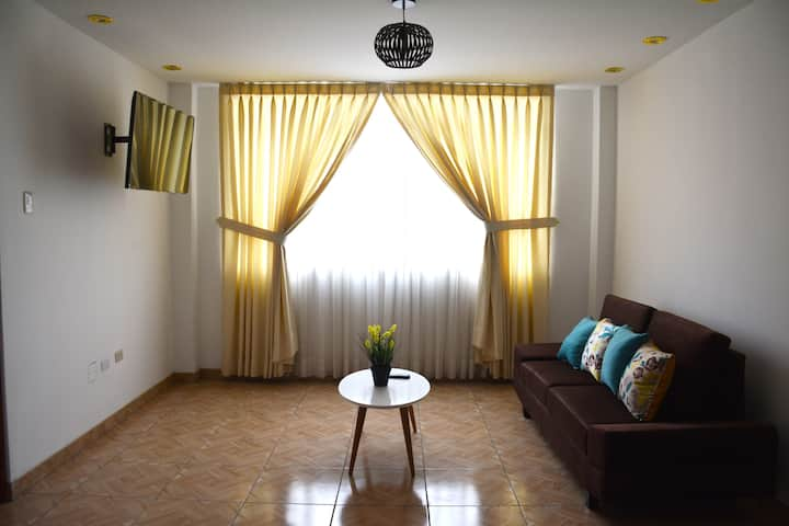 Brand new apartment close to the airport #