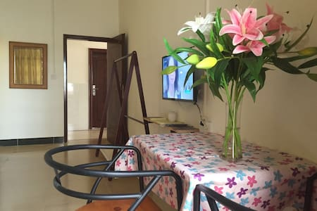 206-Double Room with 1 King Bed, Balcony, Kitchen - Sanya