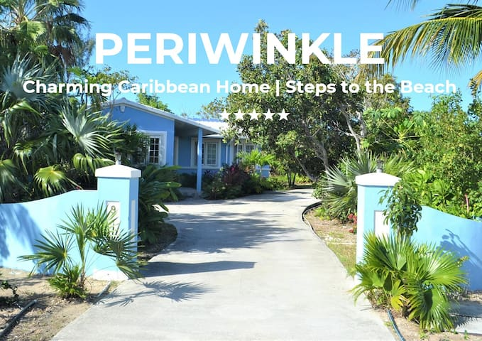 PERIWINKLE   Charming Caribbean Home Near to Beach