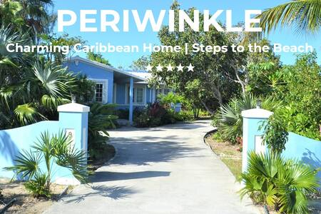 PERIWINKLE | Charming Caribbean Home|Near to Beach