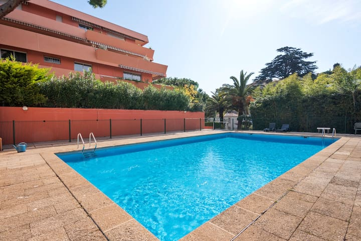 Aesthetic Apartment in Nice with Swimming Pool