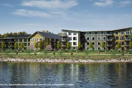 Executive Waterfront Condo-Fort Langley, Vancouver - 蘭利(Langley)