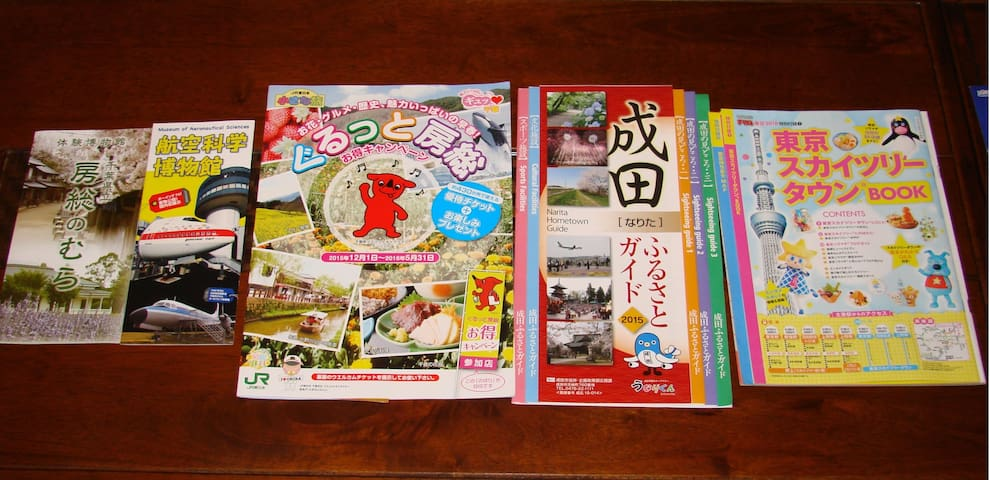 Guide map of Narita sightseeing spots!
