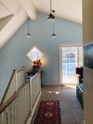 2nd Floor Hall to Deck