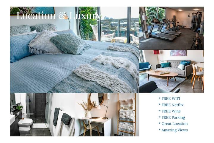 2 Bedroom Apt with WIFI/Netflix/Parking/Views